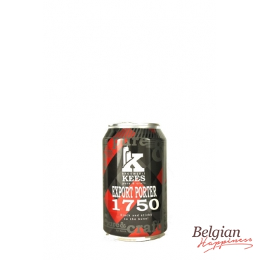 Kees Export Porter 1750 Can 33cl