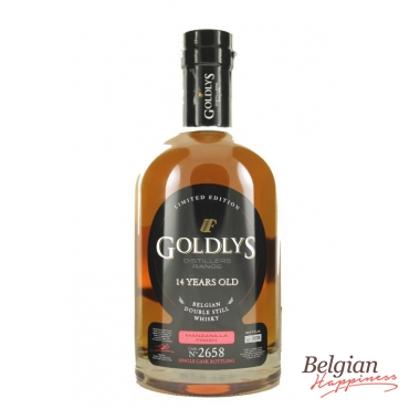 Goldlys Whisky 14 years old Manzanilla Finish 70cl