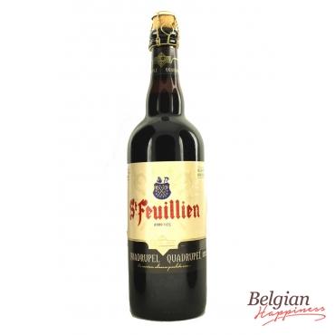 St. Feuillien Quadruple 75cl - low stock