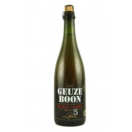 Boon Oude Geuze Black Label Edition N°5 75cl